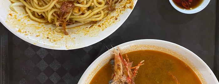 Albert Street Prawn Noodle is one of Micheenli Guide: Best of Singapore Hawker Food.