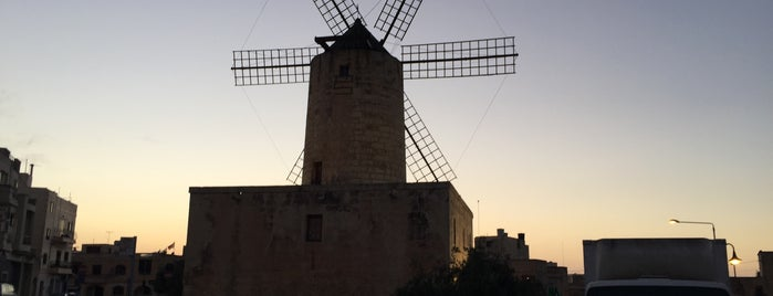 The Windmill is one of Malta.