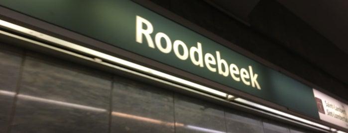 Roodebeek (MIVB / STIB | De Lijn | TEC) is one of Belgium / Brussels / Tram / Line 8.