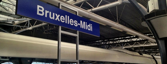Gare de Bruxelles-Midi / Station Brussel-Zuid is one of Chris 님이 좋아한 장소.