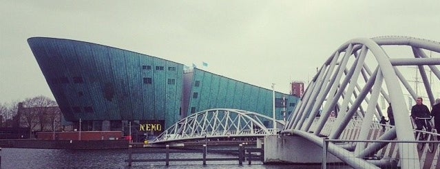 NEMO Science Museum is one of Amsterdam.