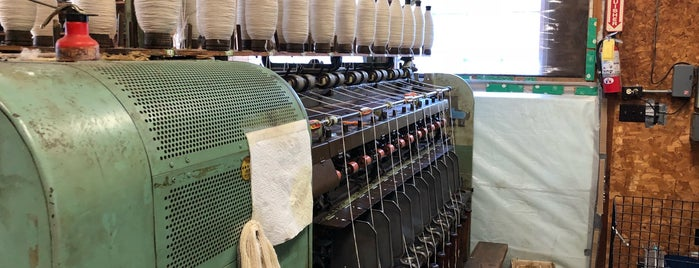 Green Mountain Spinnery is one of one of these days: yarn.
