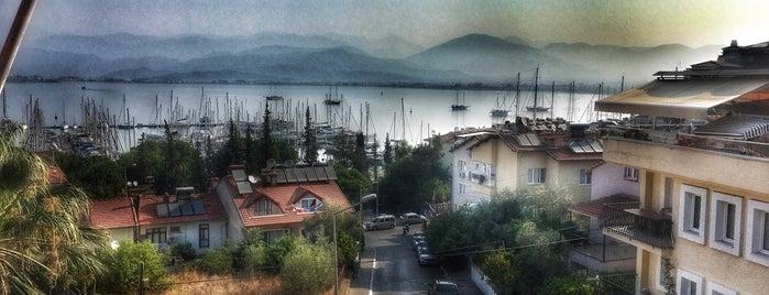 İdeal Pension Hostel Fethiye is one of Orte, die Gizem gefallen.
