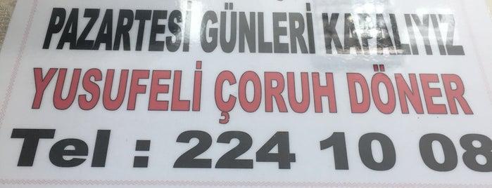 Yusufeli Çoruh Döner Salonu is one of Lugares favoritos de Gizem.