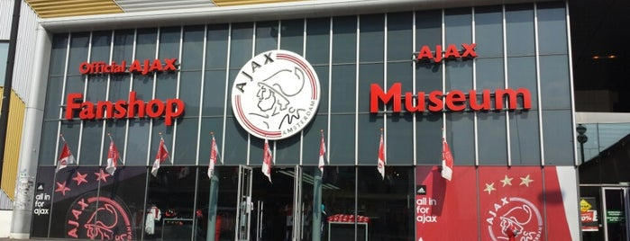 Ajax Museum is one of Амстер.