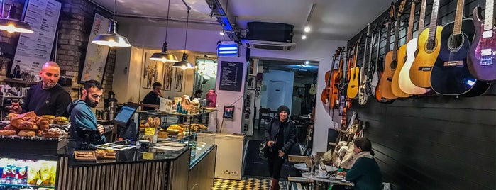 Music & Beans is one of London 🇬🇧 Coffee & treats.