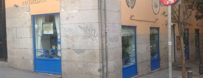 Delfos is one of Comer en Madrid.