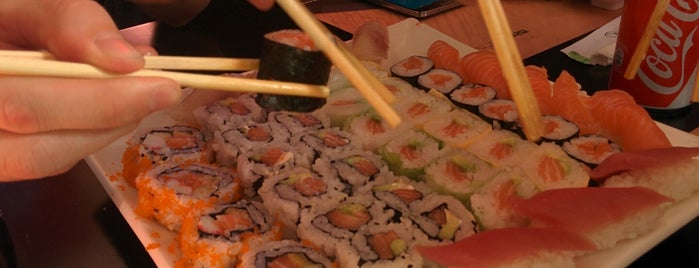 SushiCome is one of Restaurantes.