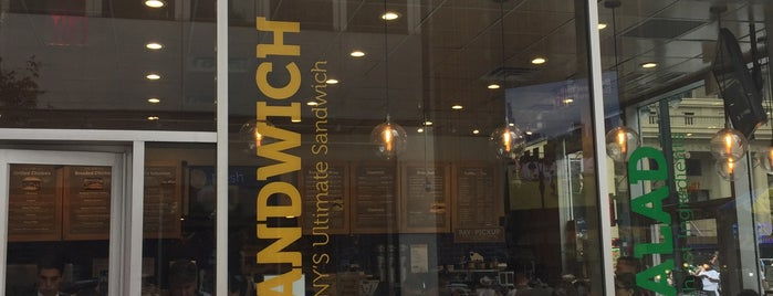 Lenwich by Lenny's is one of What am I going to do about lunch in this area.