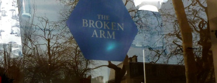 The Broken Arm is one of Paris: Coffee(In)Touch Guide.