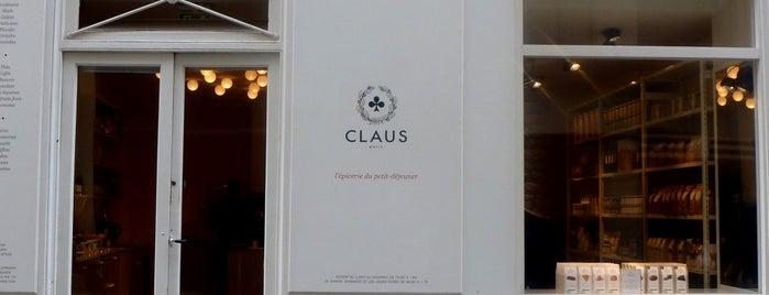 Claus - La table du petit-déjeuner is one of Paris: Coffee(In)Touch Guide.