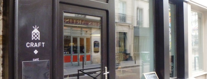 Craft is one of Paris: Coffee(In)Touch Guide.