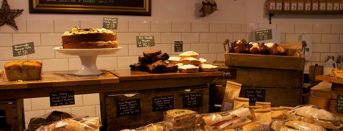 Leyas Coffee & Artisan Foods is one of London: Coffee(In)Touch Guide.