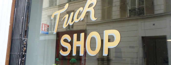 Tuck Shop is one of Paris: Coffee(In)Touch Guide.