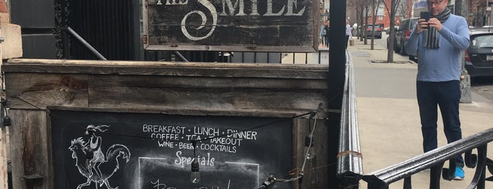 The Smile is one of New York - Food.