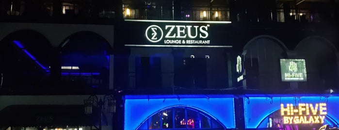 Zeus Lounge & Restaurant is one of Masahiro : понравившиеся места.
