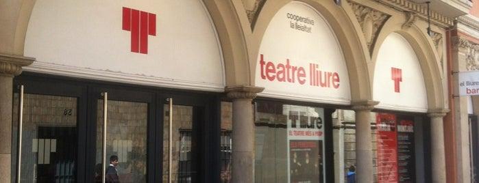 Teatre Lliure is one of mis sitios.