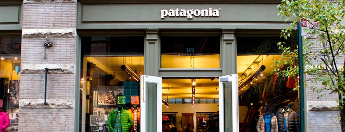 Patagonia is one of NYC.