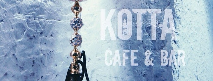KOTTA Cafe & Bar is one of Posti che sono piaciuti a Ekaterina.