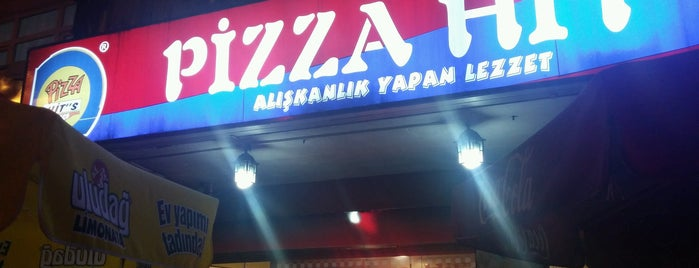 Pizza Hit''s is one of Locais curtidos por A.