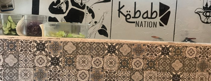 kebab nation is one of CDMX comida.