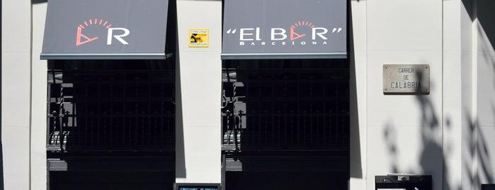 """""""El Bar"""" Barcelona is one of Llocs pendents. Beures."""