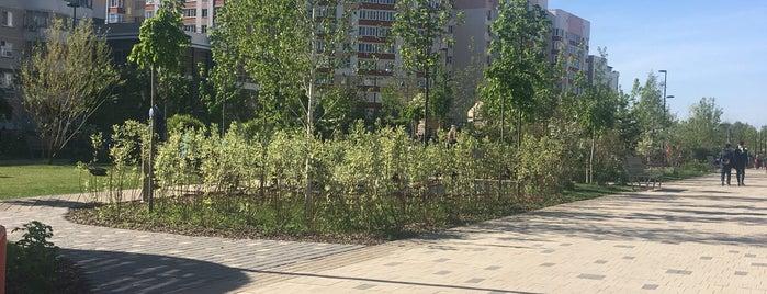 Сквер на Абсалямова is one of РУСЬ.