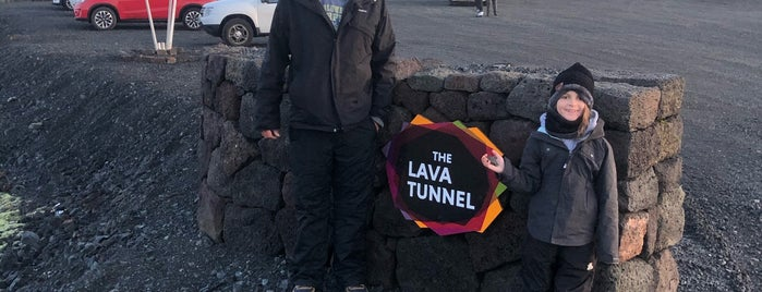 The Lava Tunnel At Raufarholshellir is one of Part 1 - Attractions in Great Britain.
