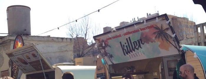 Killer Burrito is one of Tempat yang Disukai Santiago.