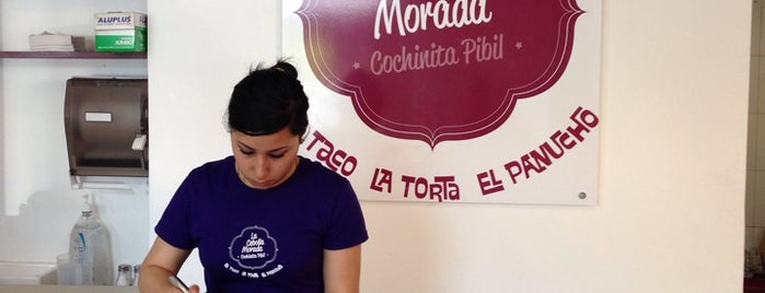La Cebolla Morada is one of fueras del centro.