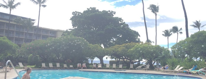 Ka'anapali Beach Hotel Pool is one of Eating and hanging out in Maui.