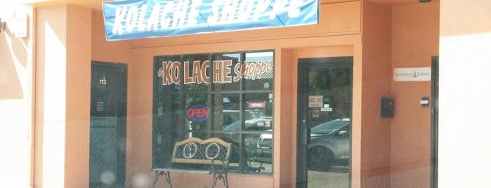 Kolache Shoppe is one of kolache heaven.