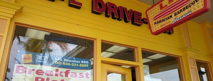 L&L Drive-Inn is one of Enjoy the Big Island like a local.