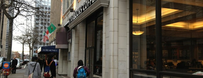 Starbucks is one of Lugares favoritos de Zachary.