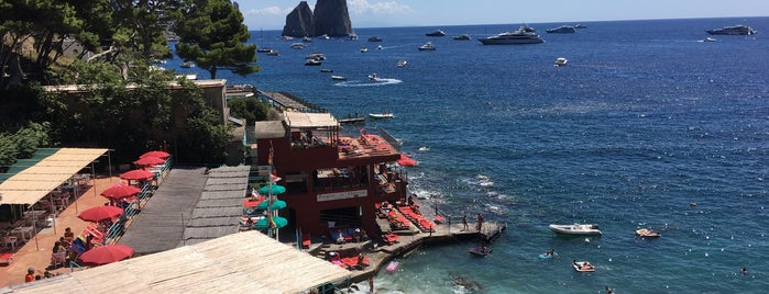 Marina Piccola di Capri is one of Lugares favoritos de Mesrure.