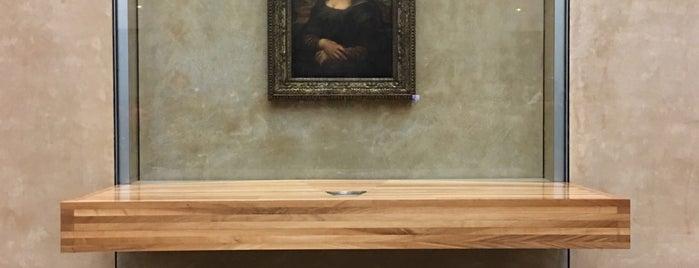 Mona Lisa | A Gioconda is one of Locais curtidos por Mesrure.