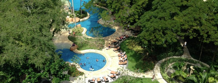 Shangri-La's Rasa Sayang Resort & Spa is one of Malaysia.