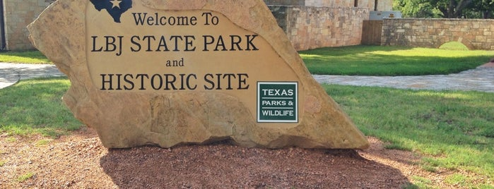 Lyndon B. Johnson State Park & Historic Site is one of Texas.