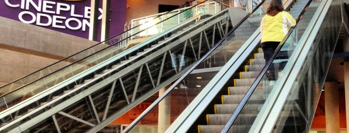 Cineplex Odeon International Village Cinemas is one of Vancouver City Guide 2014.