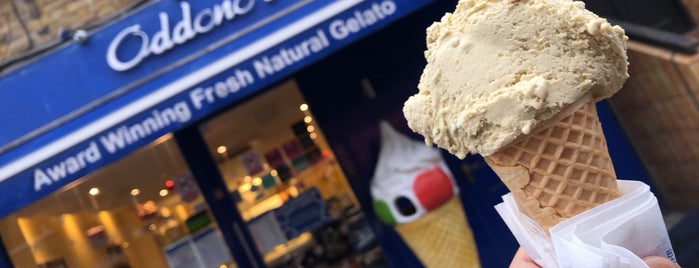 Oddono's Gelati is one of London.