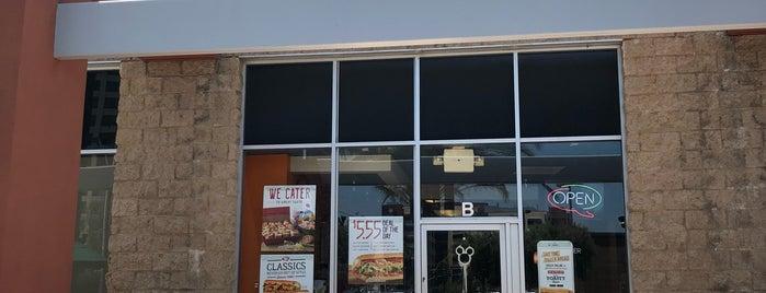 Quiznos is one of Lugares guardados de Kaitlyn.