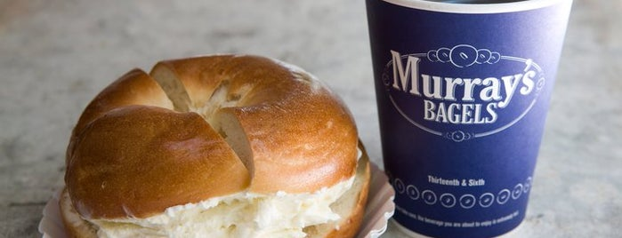 Murray's Bagels is one of NYC's Finest Bagels, Mapped.