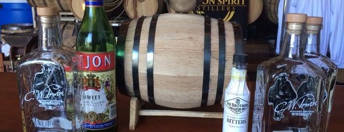 Oregon Spirit Distillers is one of Oregon Distillery Trail.
