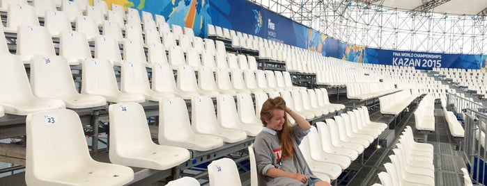 Арена для Водного Поло / Water Polo Arena is one of Locais curtidos por Nata.