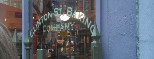Clinton St. Baking Co. & Restaurant is one of NYC Eats.