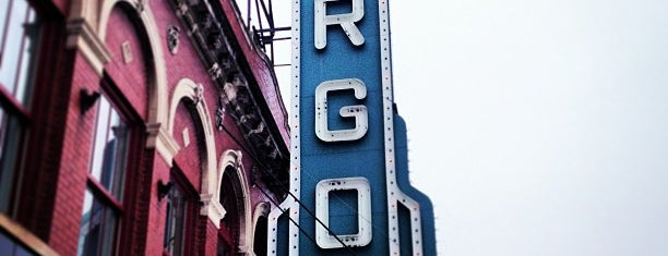 Fargo Theatre is one of Tempat yang Disukai Kate.