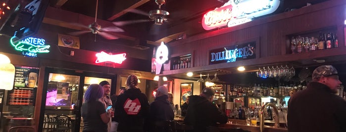 Dillingers Bar & Grill is one of Guide to Lafayette's best spots.