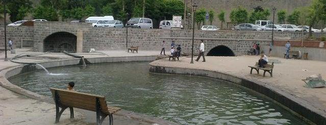 Anzele Park is one of Diyarbakır.