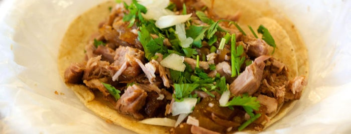 Carnitas Uruapan is one of 22 Top Picks for Meat Lovers.