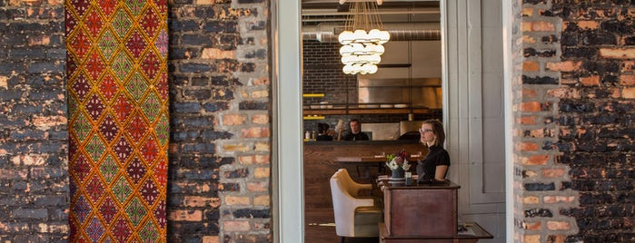 A10 is one of Phil Vettel's Top 50 Chicago Restaurants.